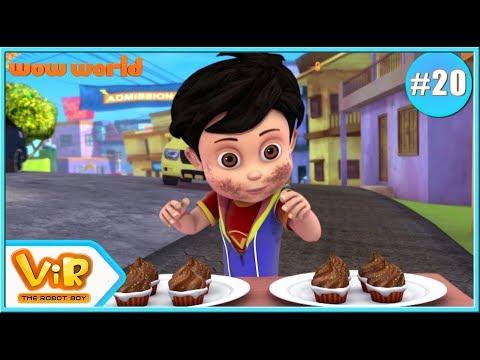 Vir: The Robot Boy | Vir's Birthday | 3D Action Cartoon For Kids | Cartoon In English | Wow World