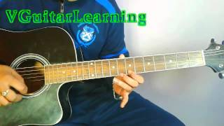 Shah Rukh Khan - Kuch Kuch Hota Hai Guitar LEAD Lesson By Vikas Sharma | Easy Guitar TAB Tutorial