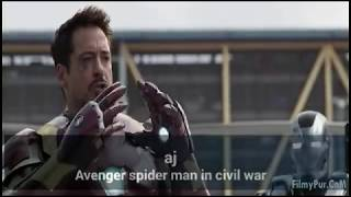 CAPTAIN AMERICA: Civil War Final Battle  Airport Battle in hindi HD