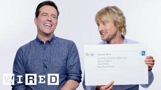Owen Wilson & Ed Helms Answer the Web