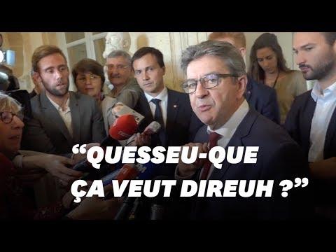 Xxx Mp4 Jean Luc Mélenchon Se Moque De L'accent D'une Journaliste 3gp Sex
