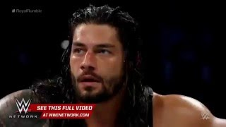 Roman Reings vs Aj Styles WWE Extreme Rules 2016 PROMO UPDATED