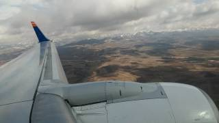 Landing at Erzurum Airport (ERZ) B737-800