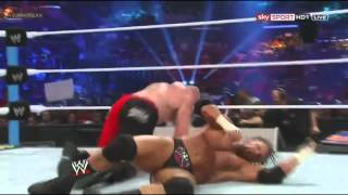 Triple H vs Brock Lesnar Highlights - HD Summerslam 2012