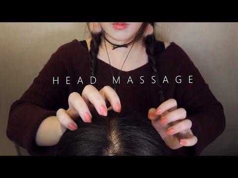 Xxx Mp4 ASMR Realistic 10 Scalp Massage Hair Brushing 😚 No Talking 두피마사지 3gp Sex