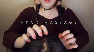 ASMR Realistic! 10 Scalp Massage & Hair Brushing 😚 (No Talking) 두피마사지