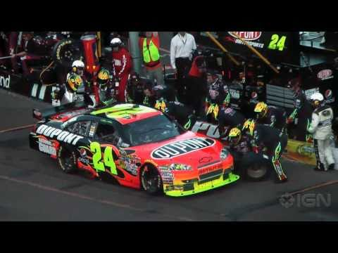 NASCAR The Game 2011 Pit Stops Trailer