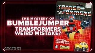 The Mystery of Bumblejumper: Transformers Mistake? | Oddities #12