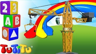 TuTiTu Preschool | Learning Colors for Babies and Toddlers | Crane