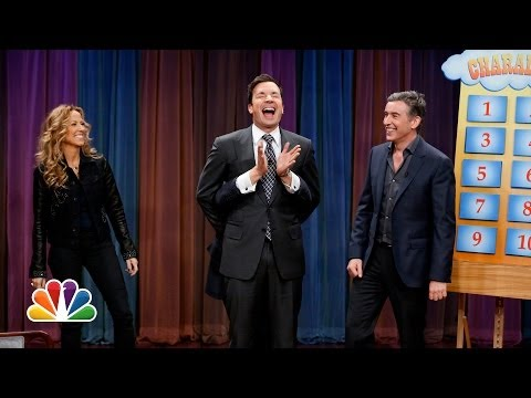 Charades with Jimmy Fallon Damian Lewis Steve Coogan and Sheryl Crow