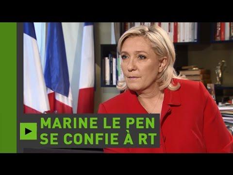 Marine Le Pen à RT France «Il n'y aura plus d'Union européenne si la France en sort»