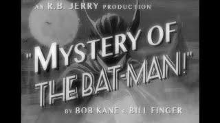 MYSTERY OF THE BATMAN! (1939) I -