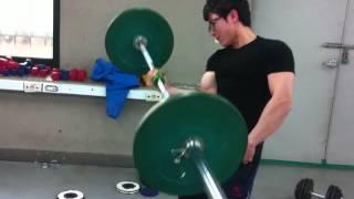 [팔씨름] 홍지승 40kg 원암바벨컬 ┃ [Armwrestling] 40kg One Arm Barbell Curl by Korean Armwrestler Ji-Seung Hong