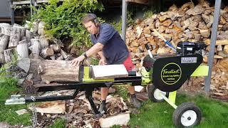 34 ton Forest West log splitter.
