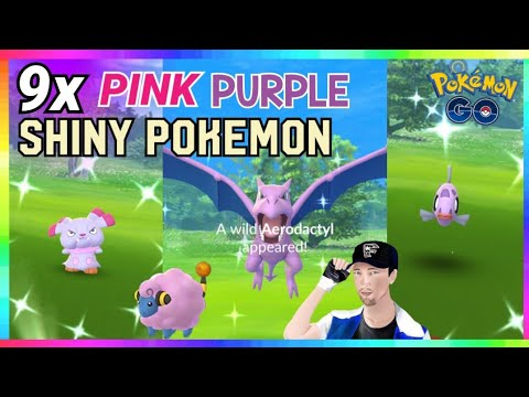 Xxx Mp4 9x SHINY PINK PURPLE POKEMON CAUGHT In Pokemon Go FIRST CATCH REACTIONS 3gp Sex