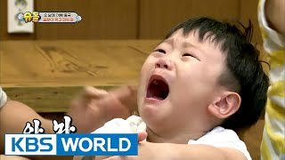 Daebak 'sobbing' after losing from his dad! [The Return of Superman / 2017.06.25]