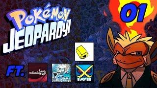Pokemon Jeopardy Episode 01: FT. Pokeaim, Blunder, Gator, Emvee, Key, Pletman jones