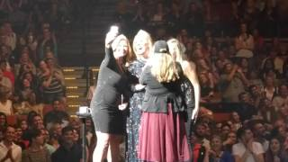 Adele - Adele Brings Fans On Stage / Water Under The Bridge LIVE Austin Tx. 11/4/16