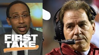 Stephen A. Smith thinks Nick Saban should coach the Giants   First Take   ESPN