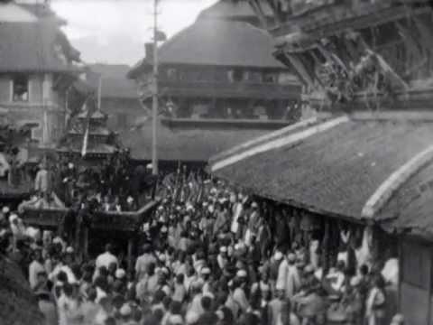 Indra Jaatra Festival Kathmandu, 1931