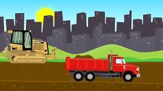 Garage  - Construction Machinery I Bulldozer are track type I Maszyny Budowlane -  Buldożer