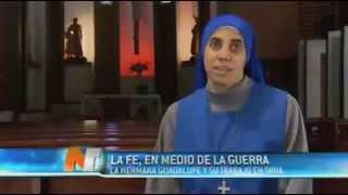 Nota a la Hermana Guadalupe, misionera en Siria