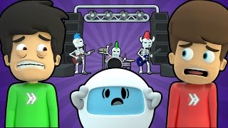 ROCKIN' GUITAR BAND DEMONS FROM HELL (Super Smosh #19)