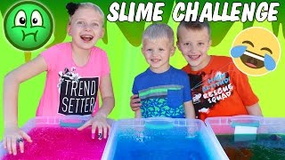 Gelli Baff Toy Slime Challenge & Huge Slime Fight - GROSS BOOGERS! Family Fun Pack