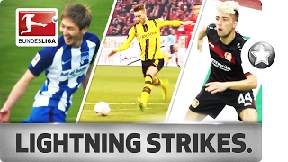 Fastest Goals 2016/17 So Far… - Reus, Kampl, Haraguchi & Co.