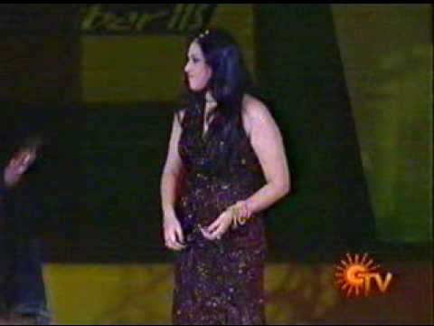 Actress.MEENA is Dance Performing in the open Stage