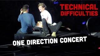 ONE DIRECTION - LIVE : HD - TECHNICAL DIFFICULTIES
