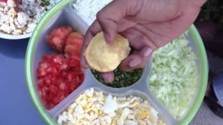 How to Eat Fuchka - Bangla Video for Bangladeshi