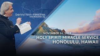 Pastor Benny Hinn LIVE from King's Chapel Oahu in Honolulu, Hawaii