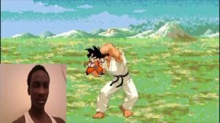 AnimationRewind: KID GOKU vs RYU! Cartoon Fight Club Episode 104 REACTION!!!