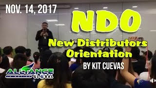 NDO (New Distributors Orientation) - AIM GLOBAL Nov. 14, 2017