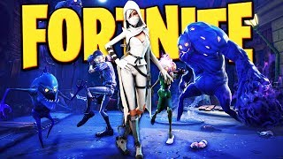Fortnite - Destroying Zombie Encampments and Activating Radar Dishes! -  Fortnite Gameplay