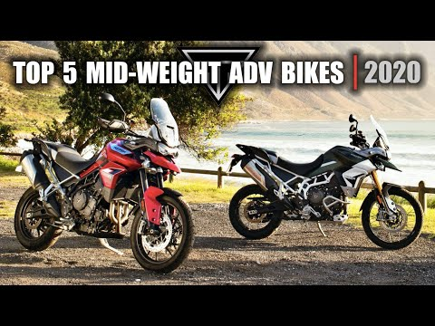 Top 5 Middle Weight Adventure Motorcycles 2020