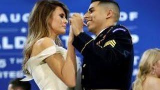 What Melania told Sgt. Jose Medina during Inaugural Dance