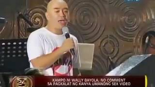 WALLY BAYOLA AND EB BABE YOSH NAGSALITA NA SA SAKSI