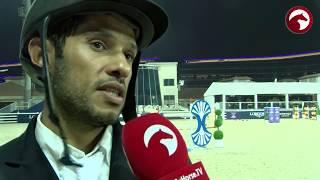 Mohammed Ahmed Al Owais   Interview  winner of CSI2* Grand Prix