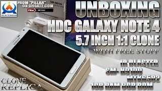 HDC Galaxy Note 4 [UNBOXING] 5.7