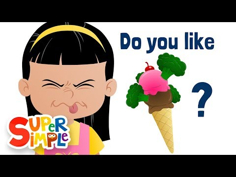 Do You Like Broccoli Ice Cream Super Simple Songs