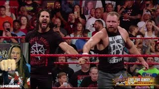 WWE Raw 8/13/18 DEAN AMBROSE RETURNS