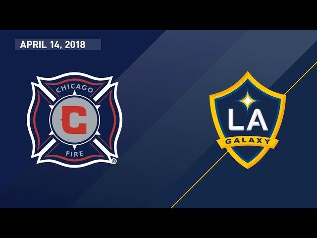 HIGHLIGHTS: Chicago Fire vs. LA Galaxy | April 14, 2018