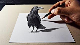 3D Pencil Art Drawing - Adam SB