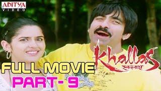 Khallas Hindi Movie Part 9/12 Raviteja, Richa Gangopadhay, Deeksha Seth