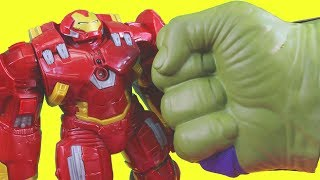 Huge Toy Unboxing Collection With Random Awesome Kids Toys Hulkbuster Vs Hulk batman & Superman
