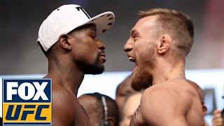 Floyd Mayweather vs. Conor McGregor   Weigh-in   Mayweather vs. McGregor