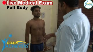 Indian Army Medical Test Live On YouTube First Time जानिऐ In Hindi By Bsf Officer Surrender Singh