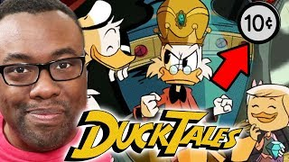 DUCKTALES 2017 Theme Song Intro REACTION & EASTER EGGS
